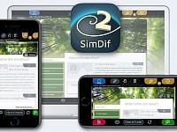 SimDif iOS用のWebサイトビルダー